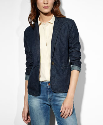 LEVI'S Denim Blazer $98