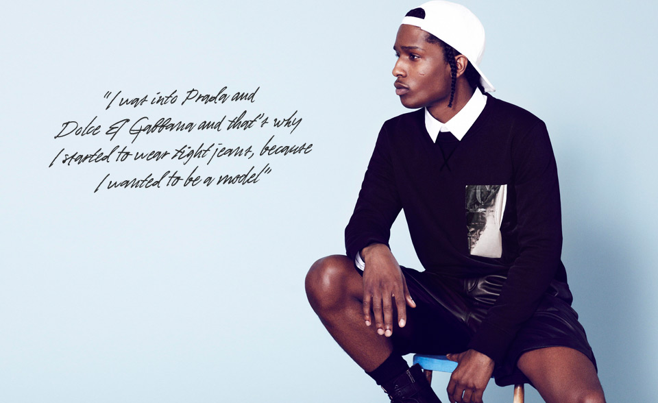 Fashion Is Almost Like A Religion For Me At Least By Asap Rocky Like Success