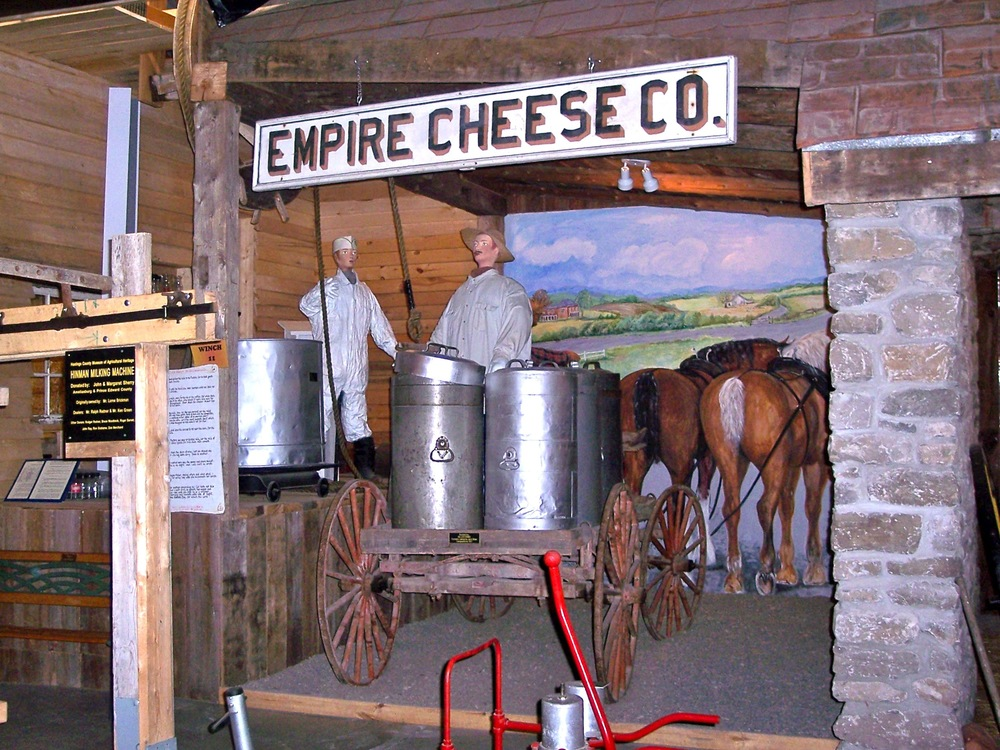 Cheese Factory in the Dairy Building