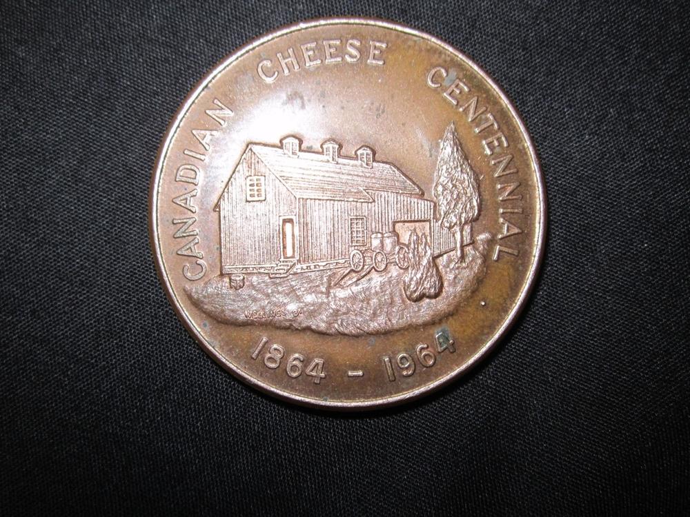 Cheese Centennial Medal