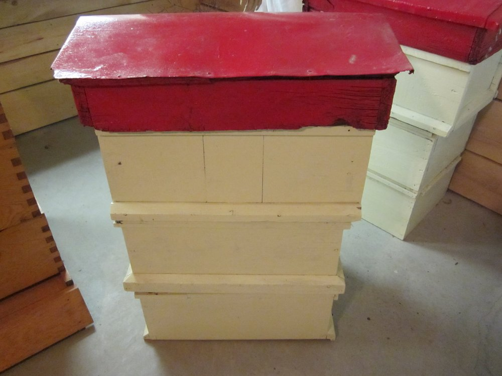 Langstroth bee hive