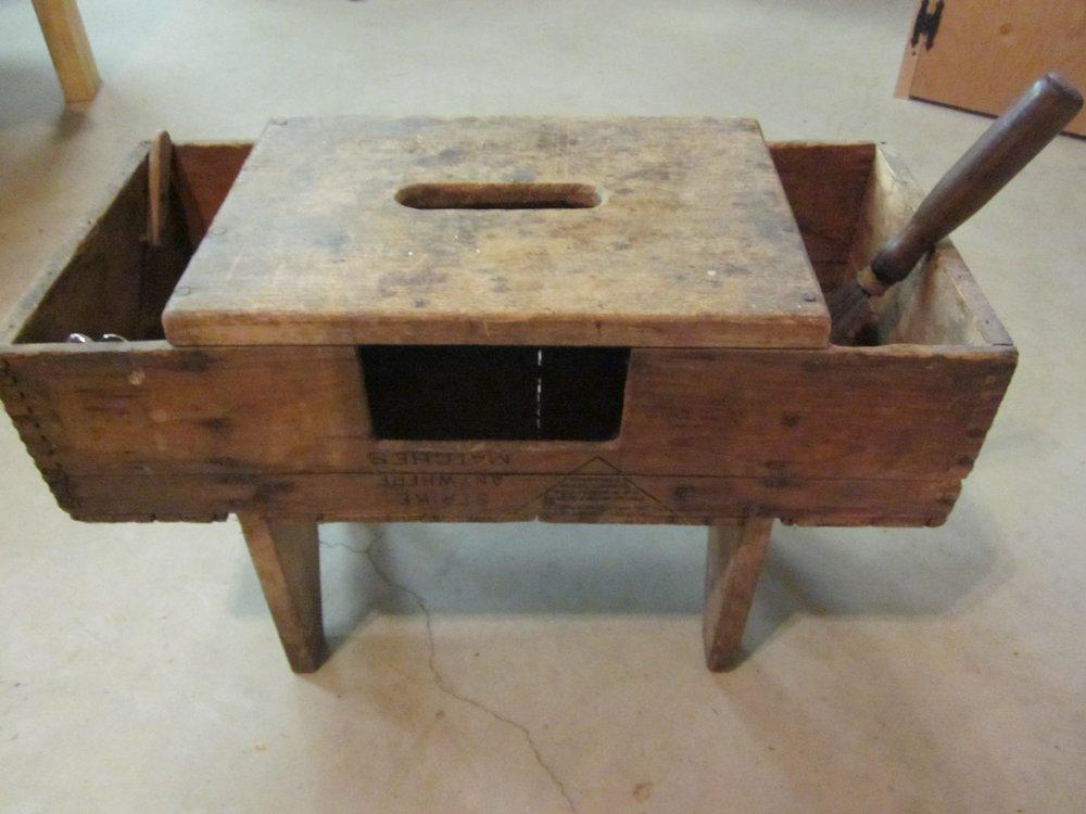 Tool box stool