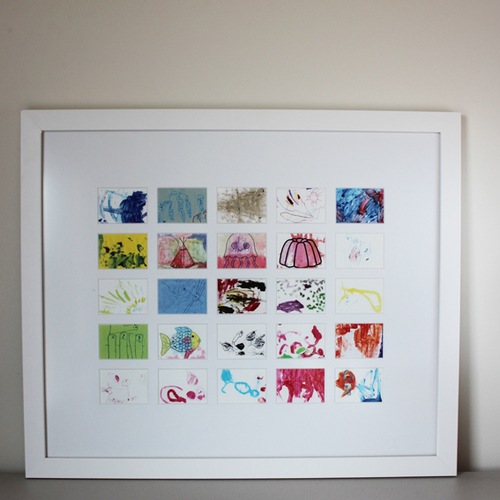 creative kids art frame 25 - Kids Art Frame