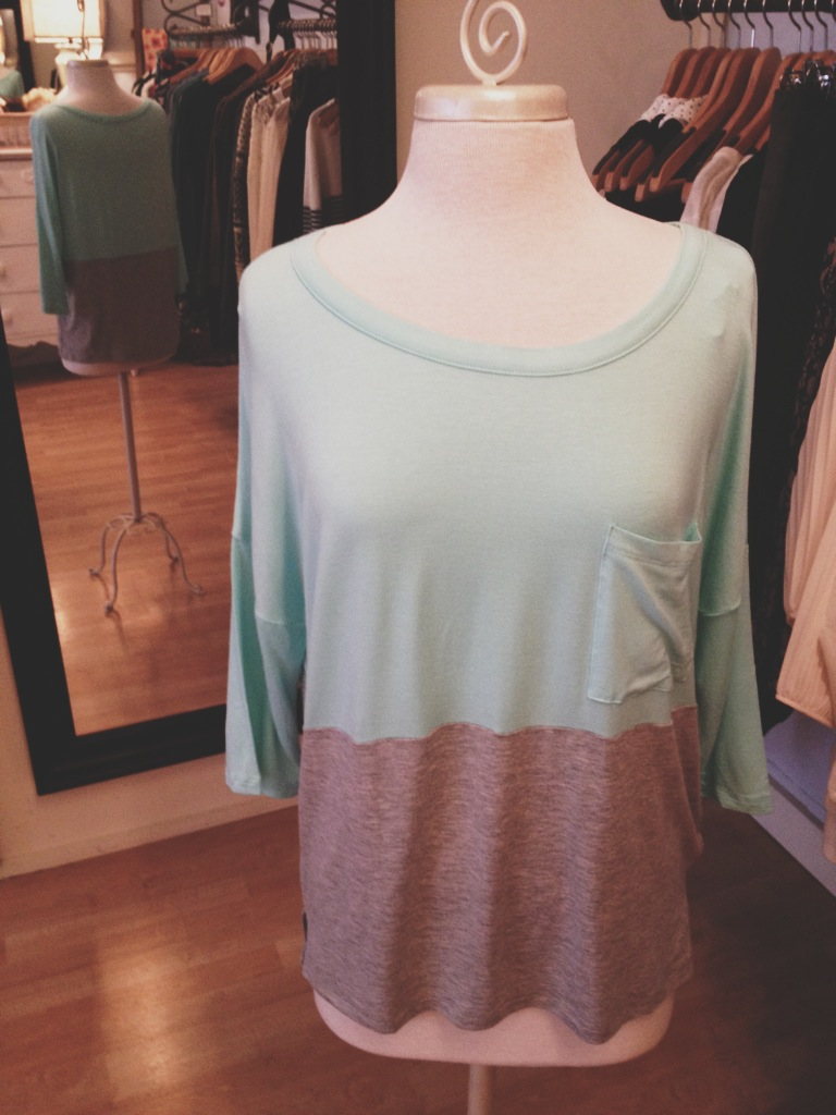 Gray and Teal Color Block Shirt.jpg