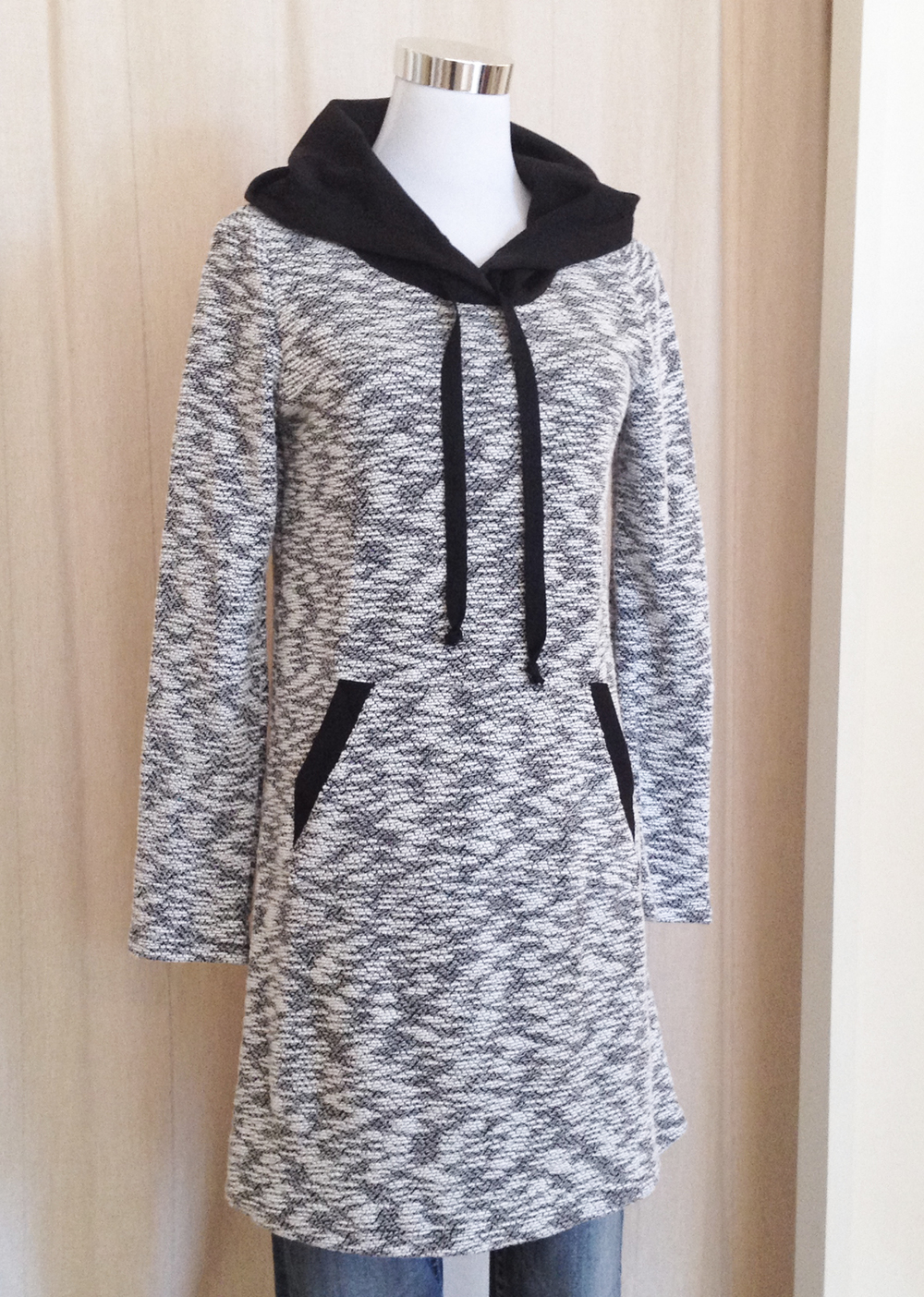 Marled Hoody Dress