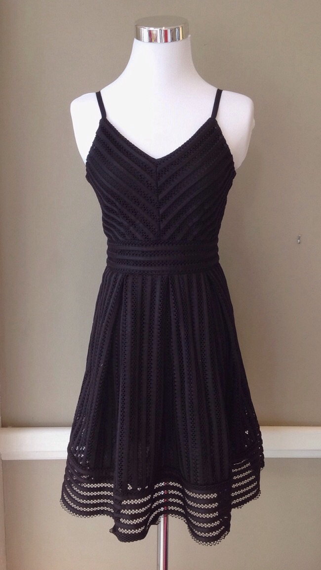 Black lace party dress, $38