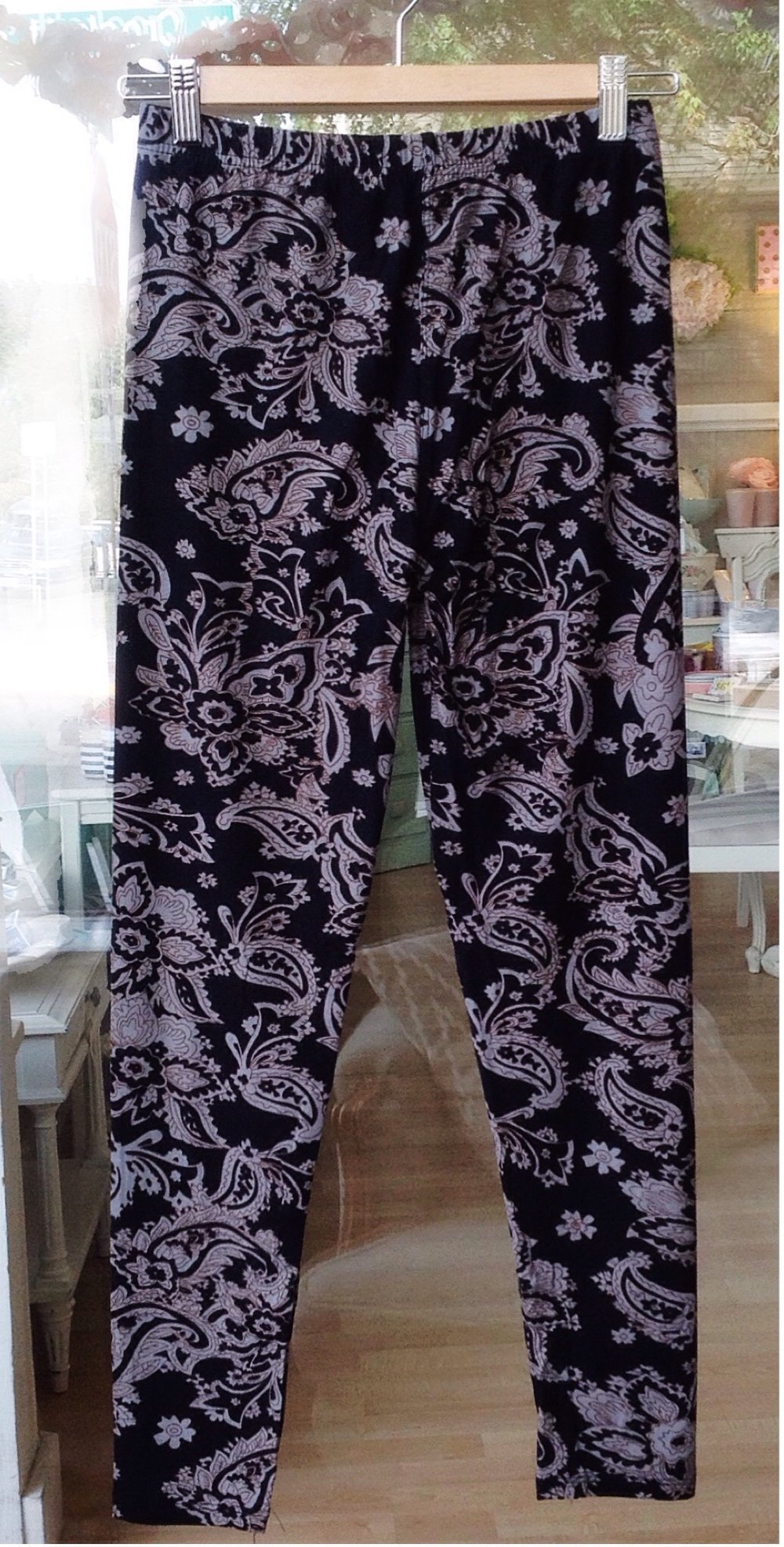 Full-length, one-size leggings, $21