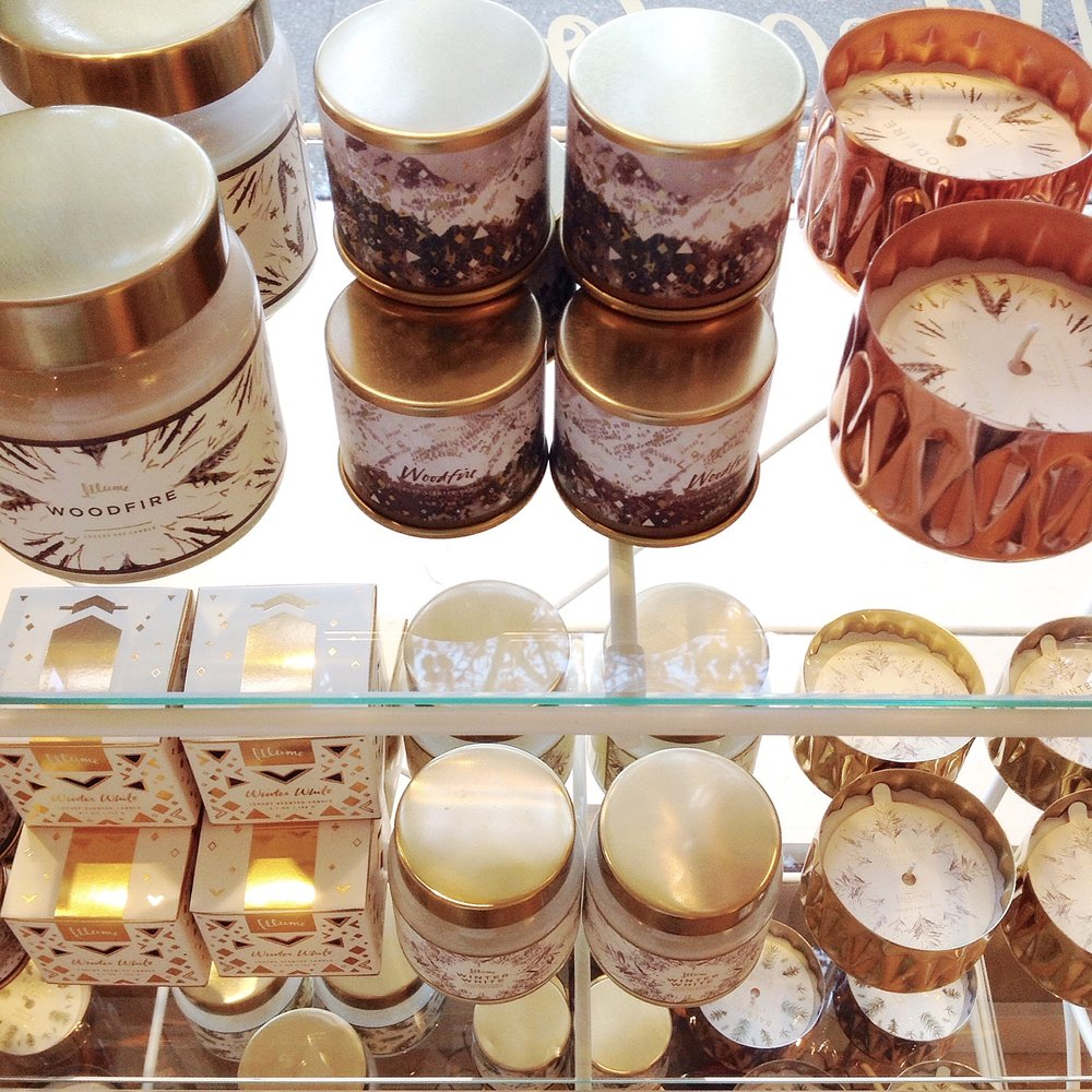 Illume seasonal candle collection, $2.50-$23