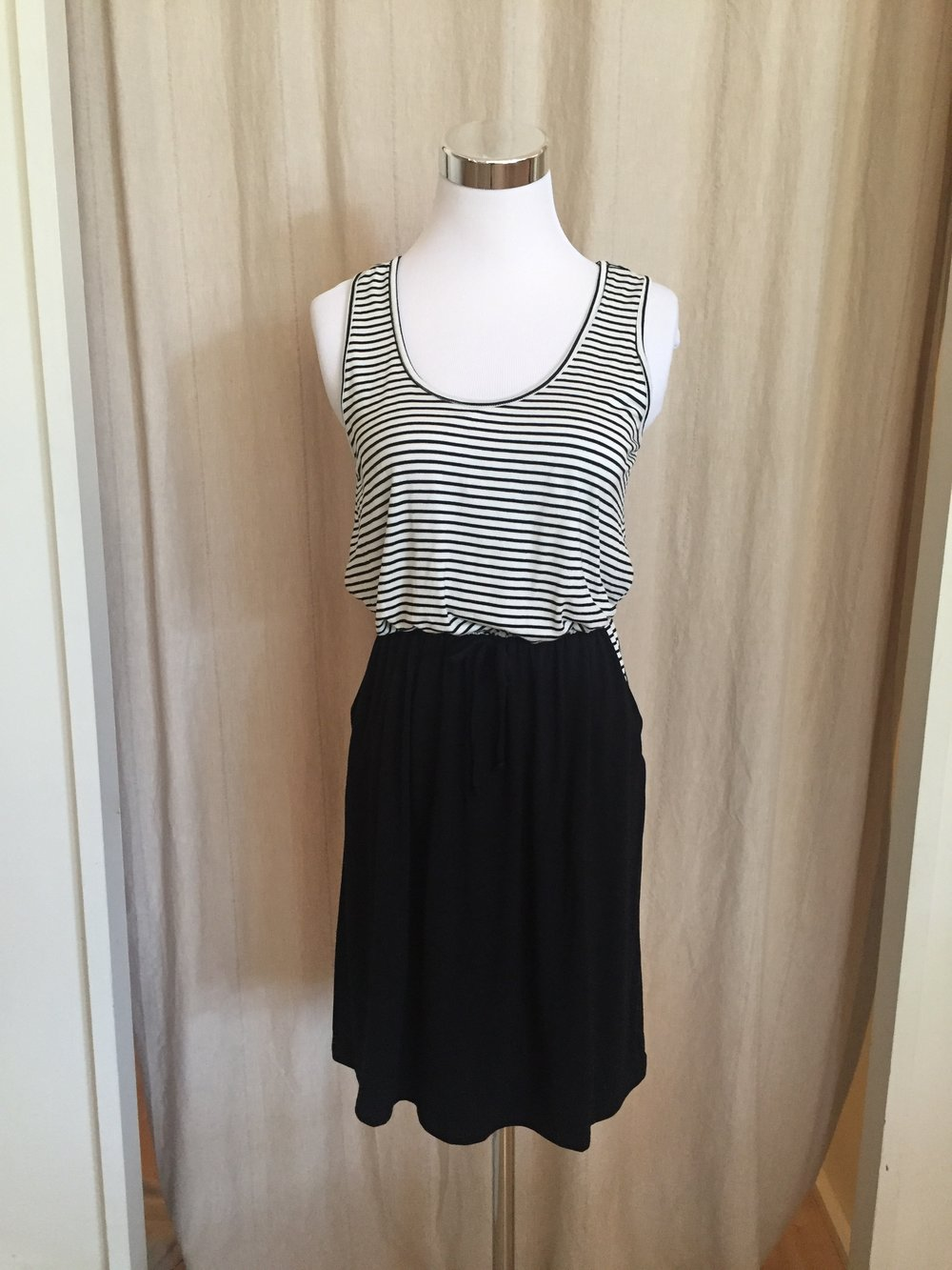 Sailing Stripes Dress, $38