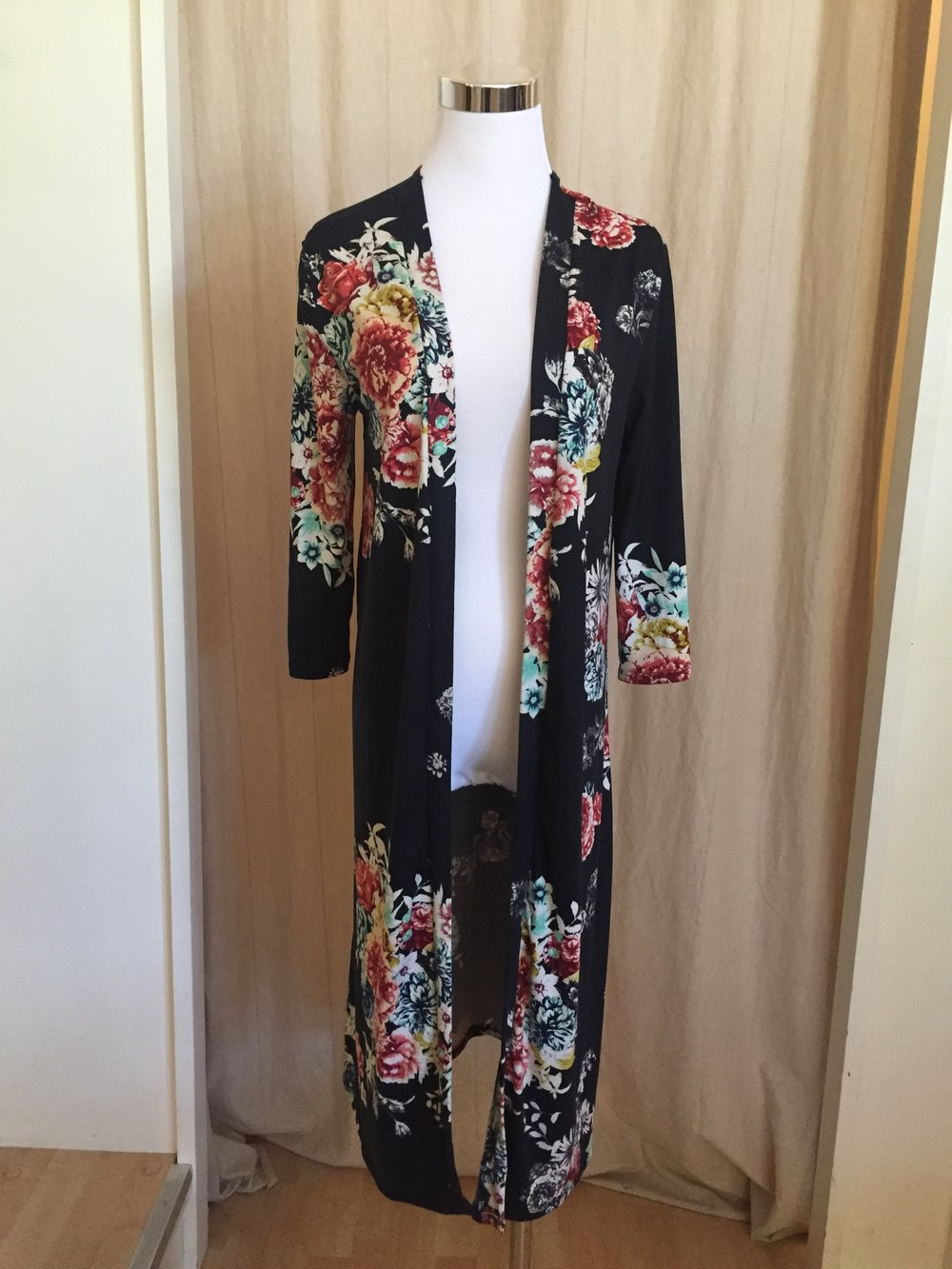 Floral Duster, $38