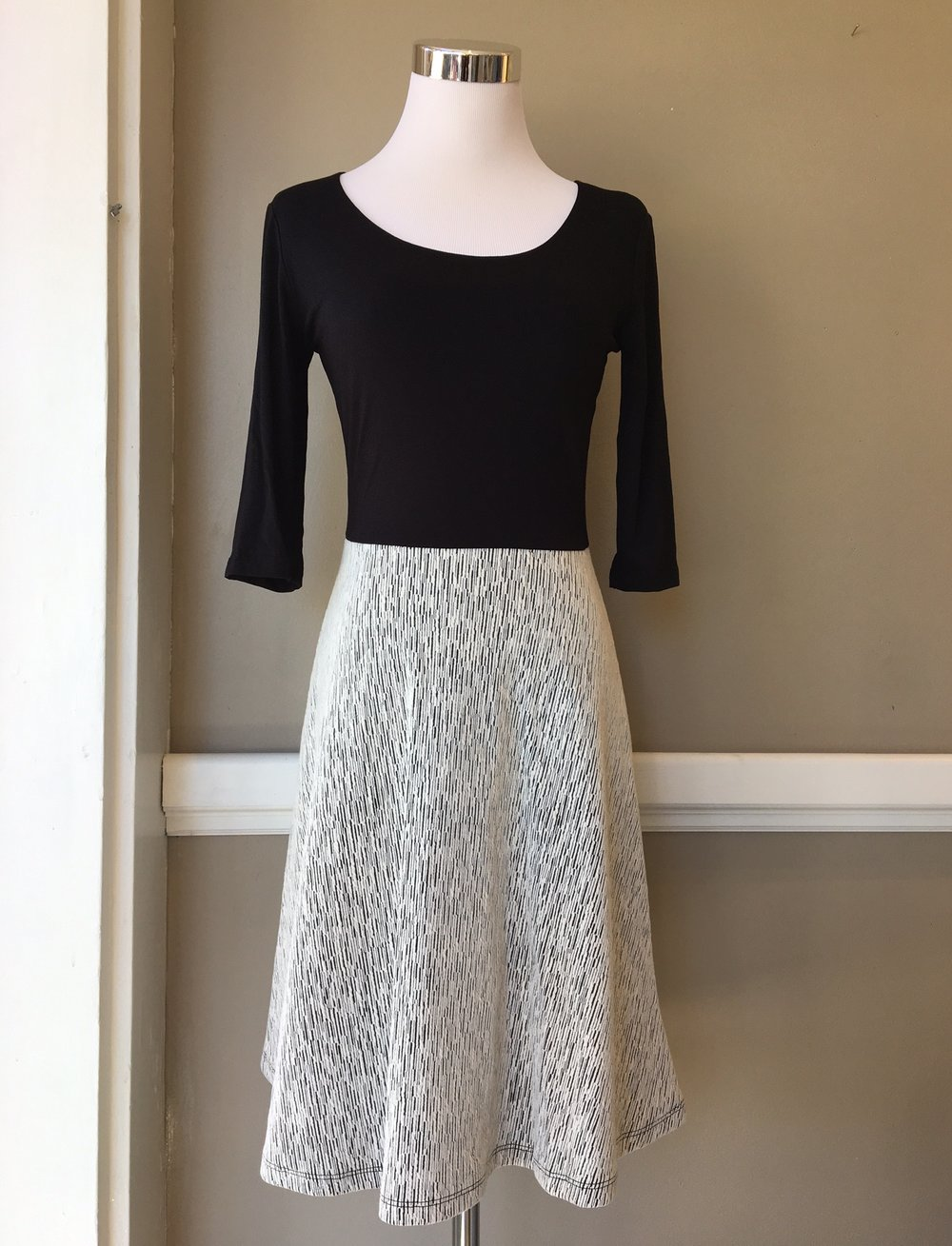 Black and White Dress ($45)