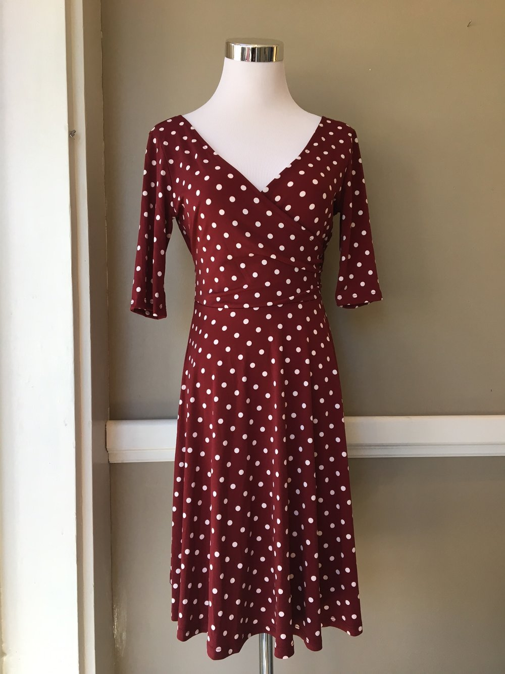 Polka Dot Dress ($42)