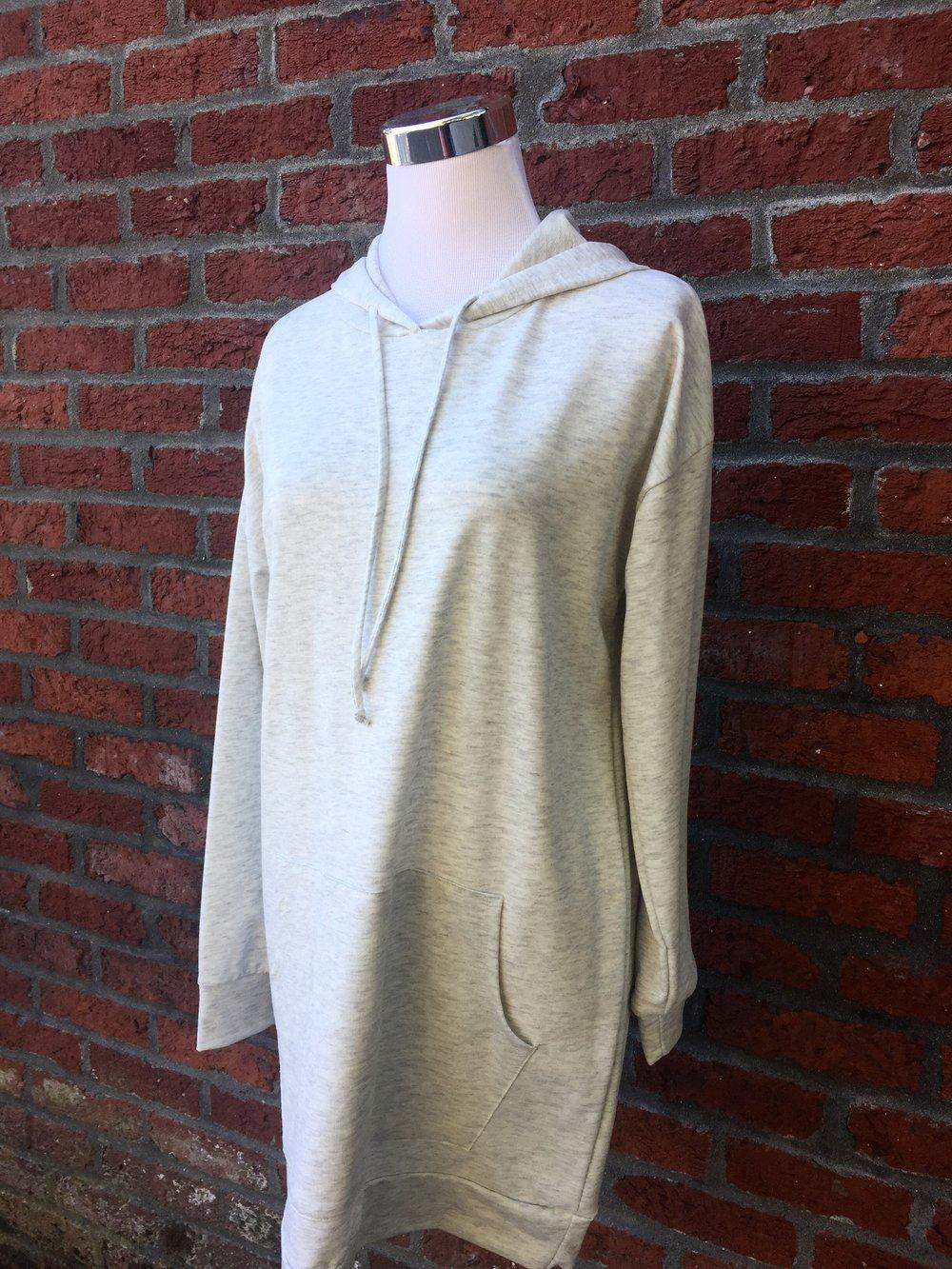 Long Grey Hoodie ($38)