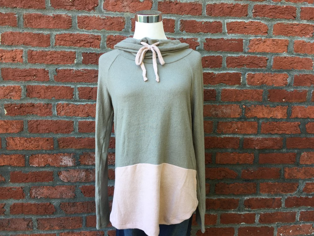 Staccato Drawstring Sweater ($35)