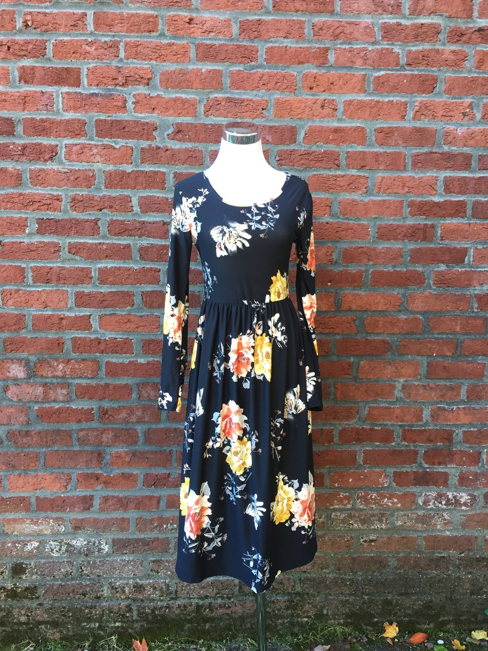 Floral Long Sleeve Dress ($38)