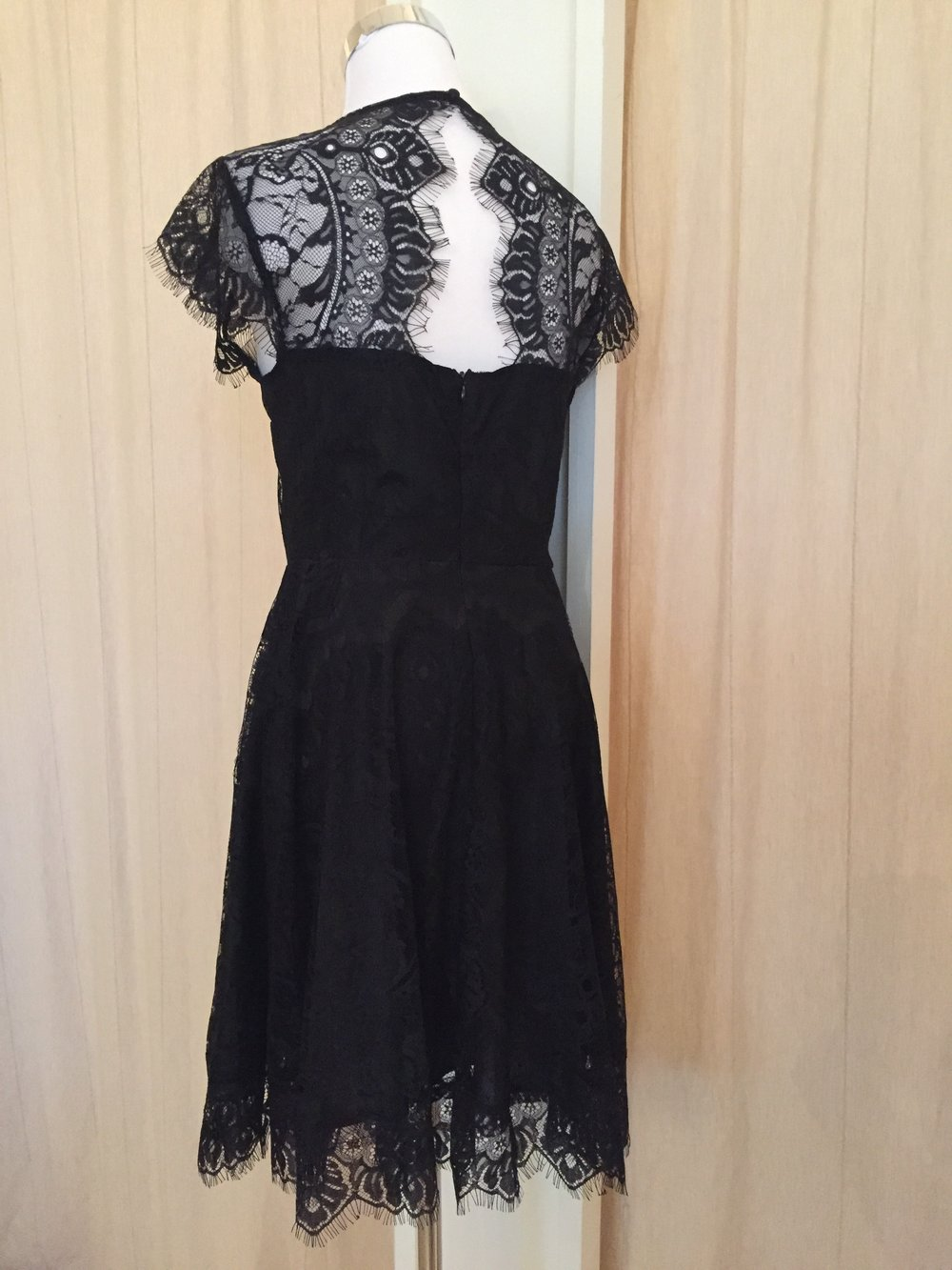 Black lace dress $64