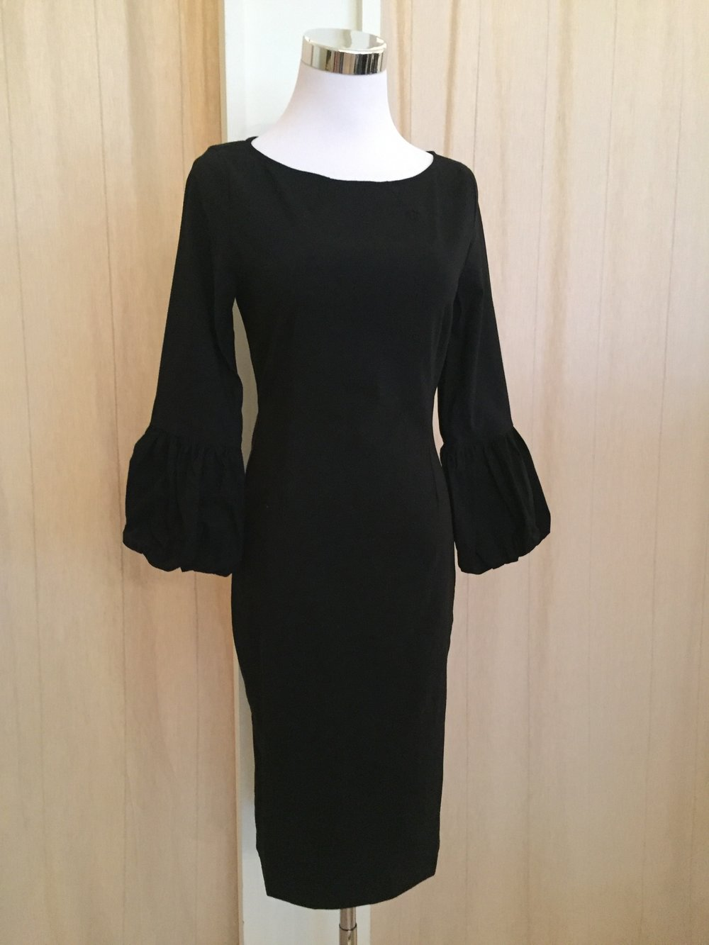 Poof sleeve dress $58