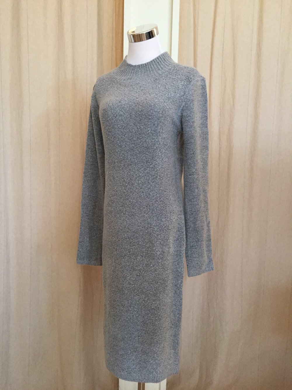 Mock Neck Sweater Dress ($42)