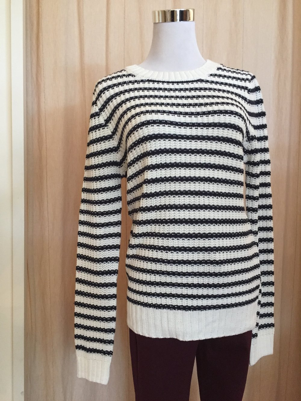 Stripe Navy Sweater ($34)