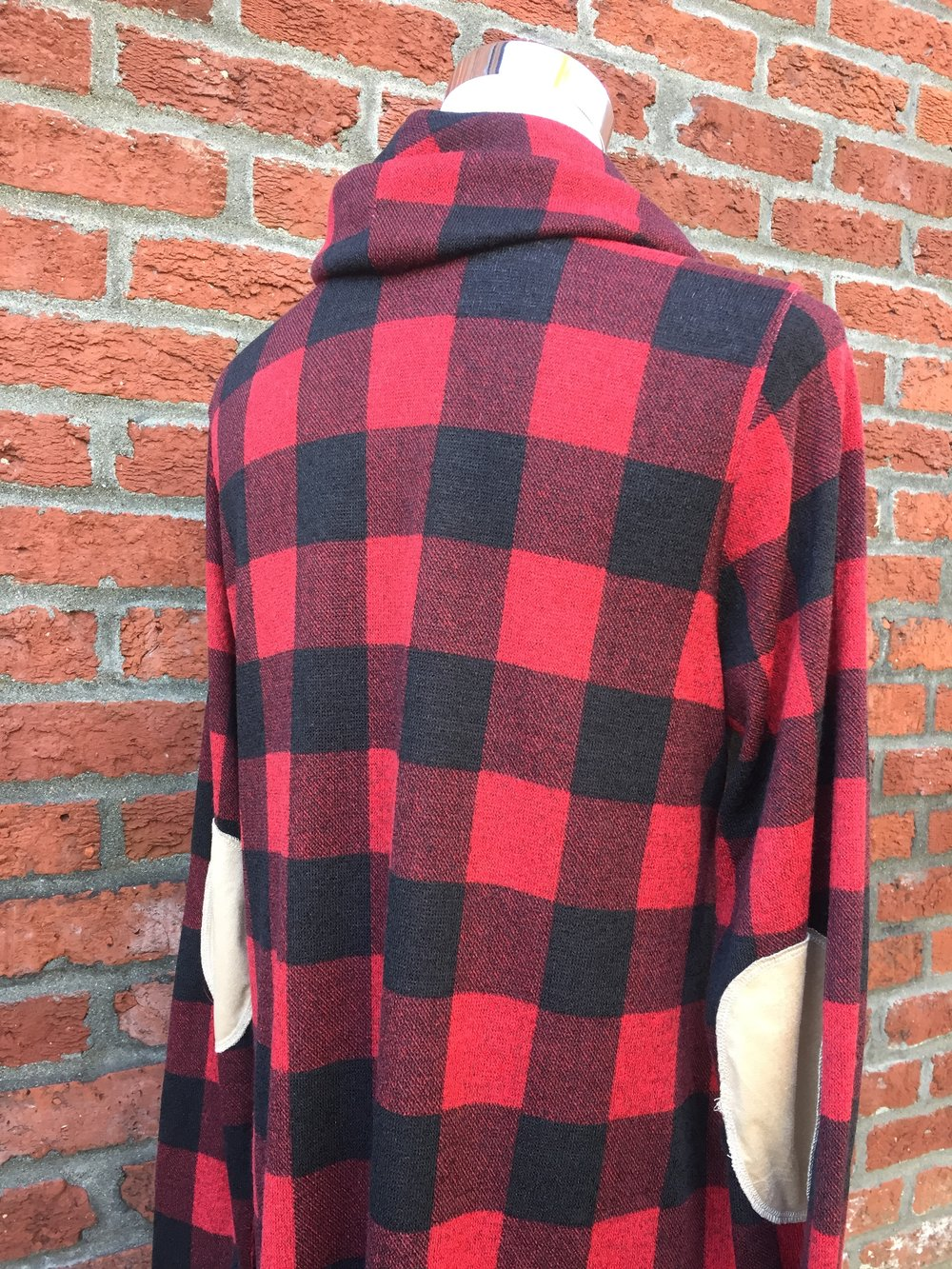 Plaid Dress w/ Elbow Patch ($38)