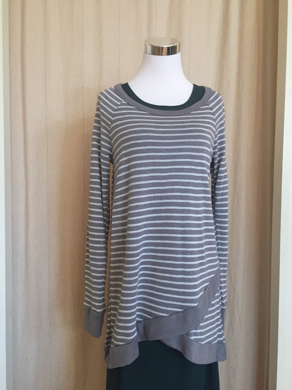 Striped Tulip Top ($38)