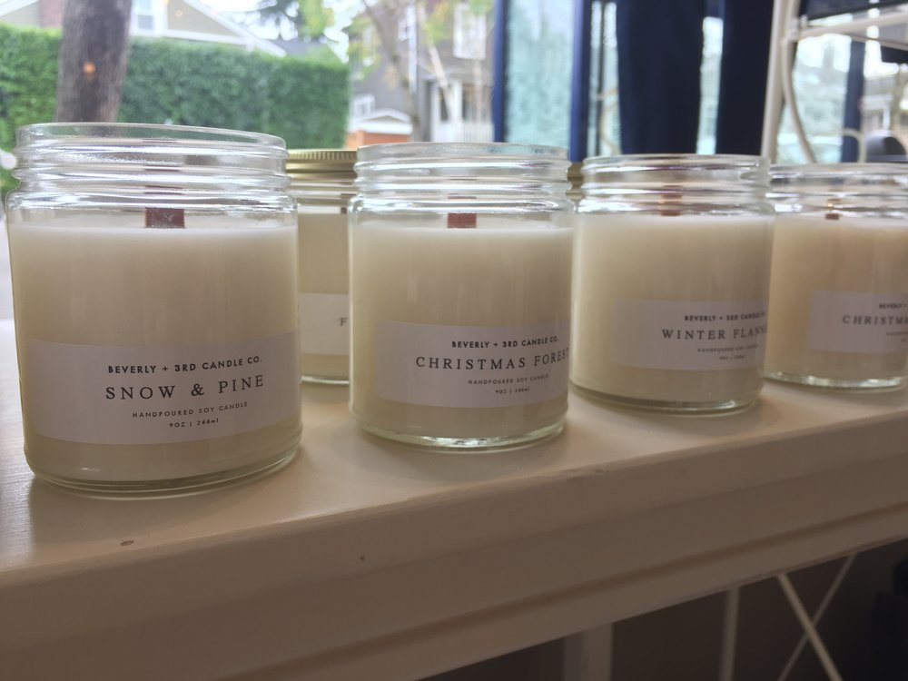 Wood Wick Soy Candles ($18)