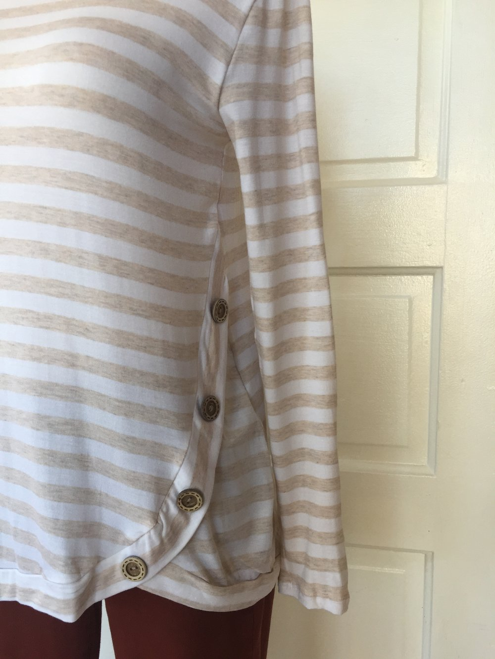 Button Detail Top ($35)