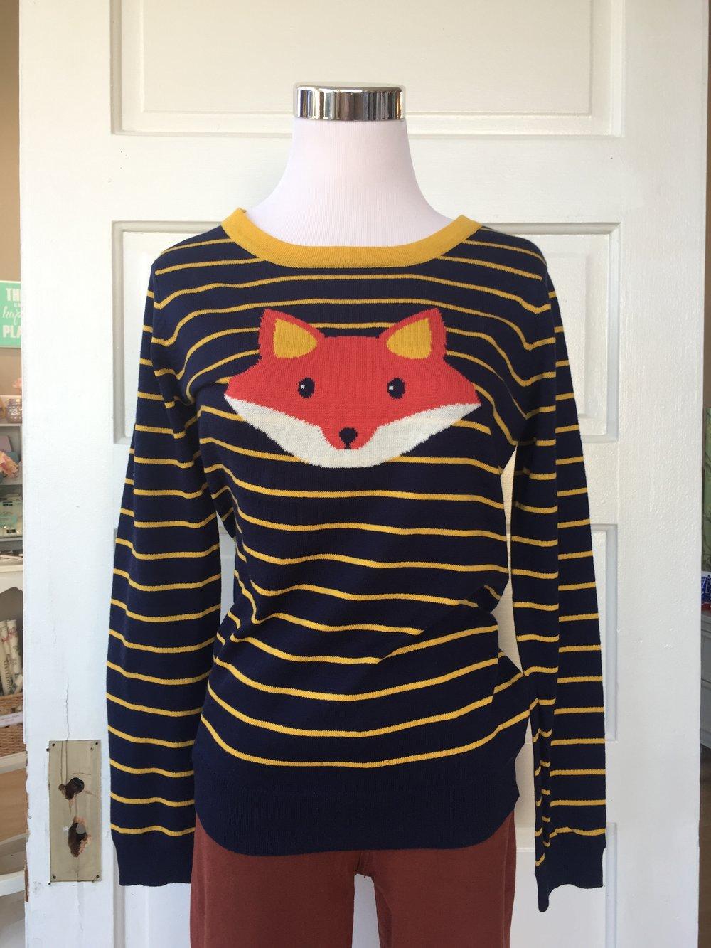 Foxy Sweater ($32)
