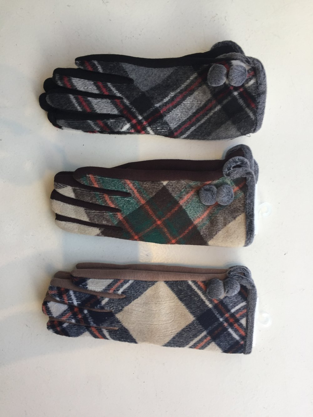 New Plaid Gloves!