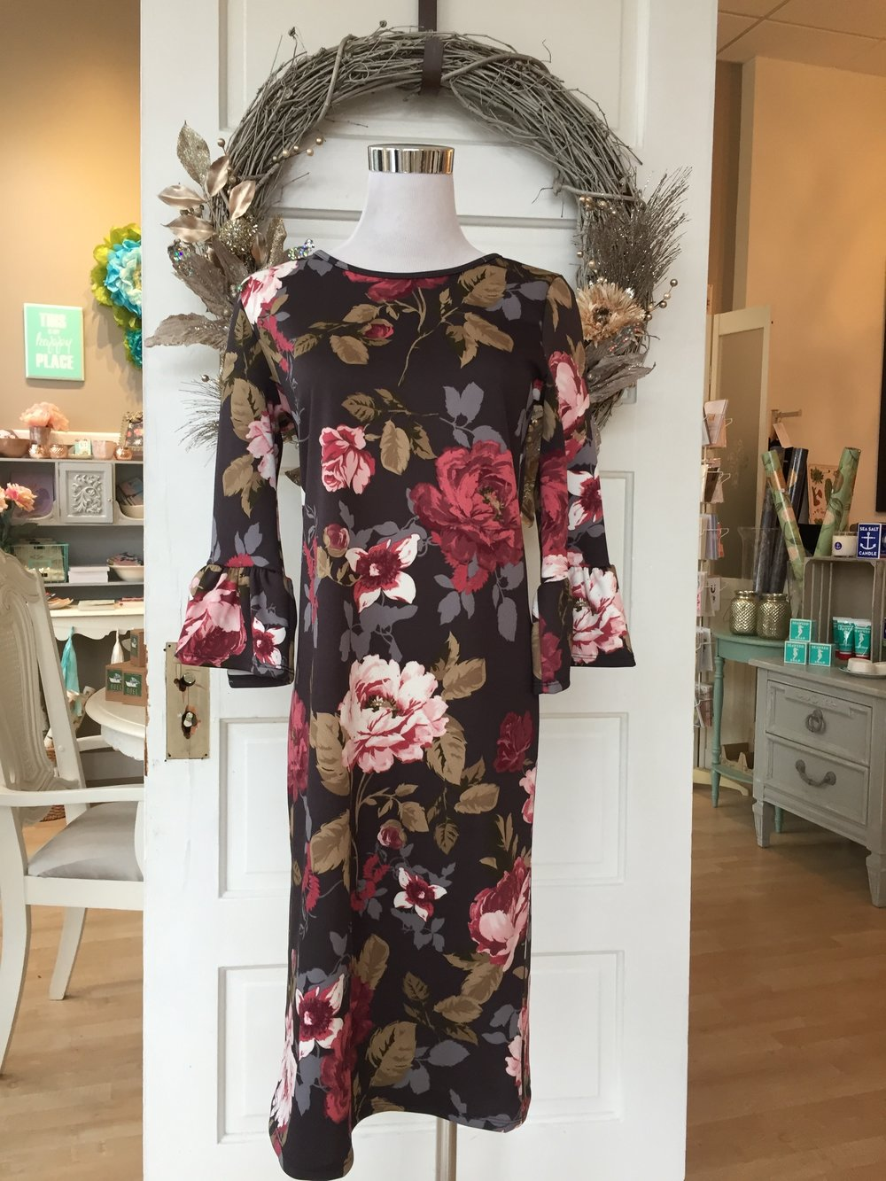 Les Amis Floral Dress $38