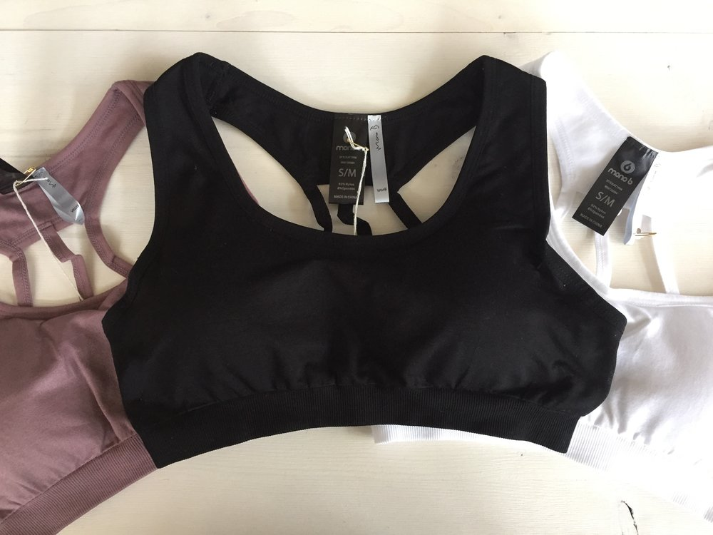 Back Detail Sports Bra $18