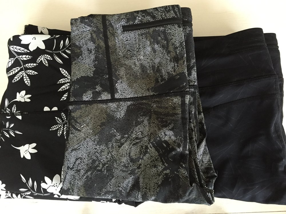 Black Print Leggings $34, $35, $35