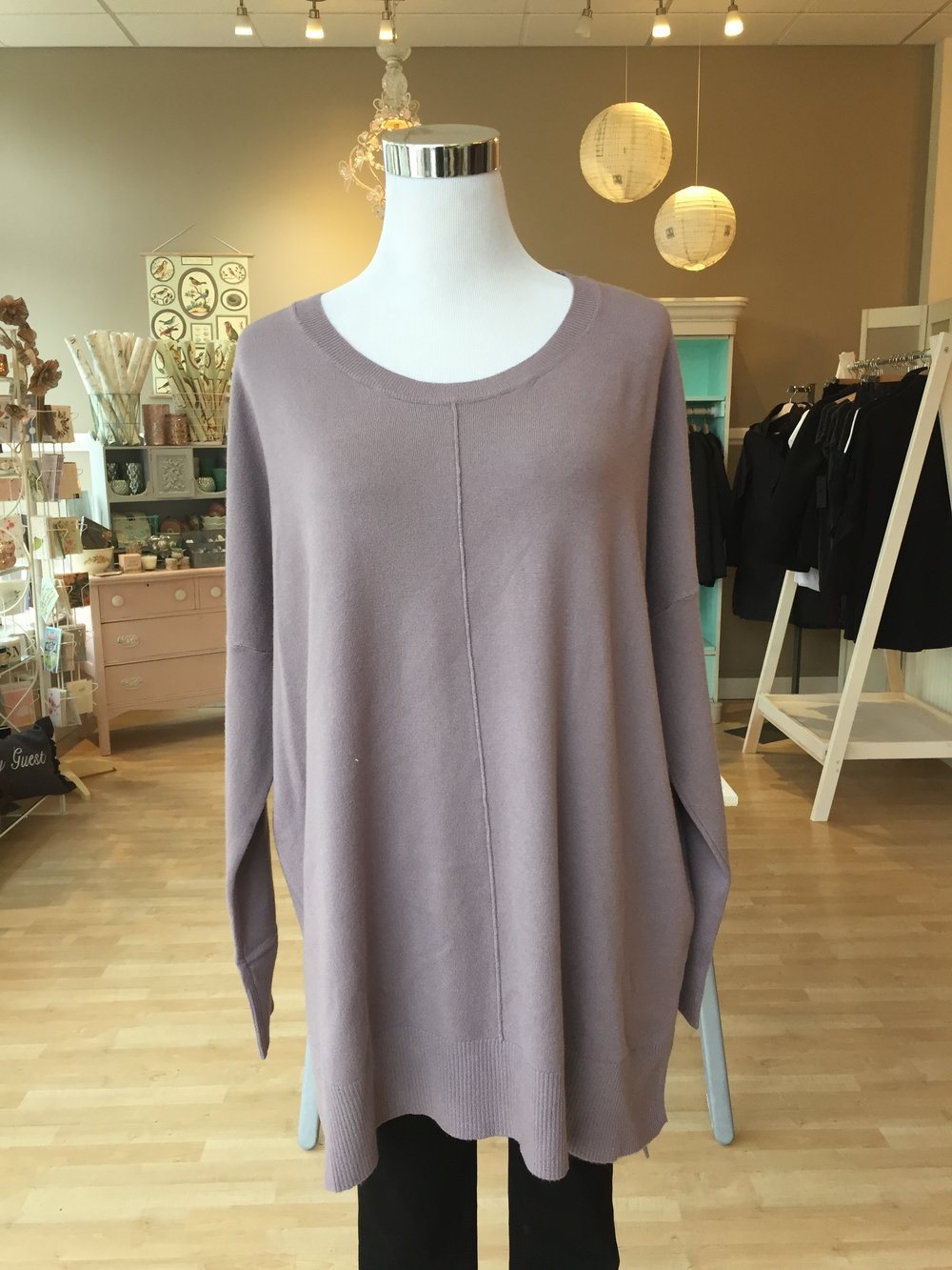 New Dreamers! Scoop Neck $42 (black, lilac)