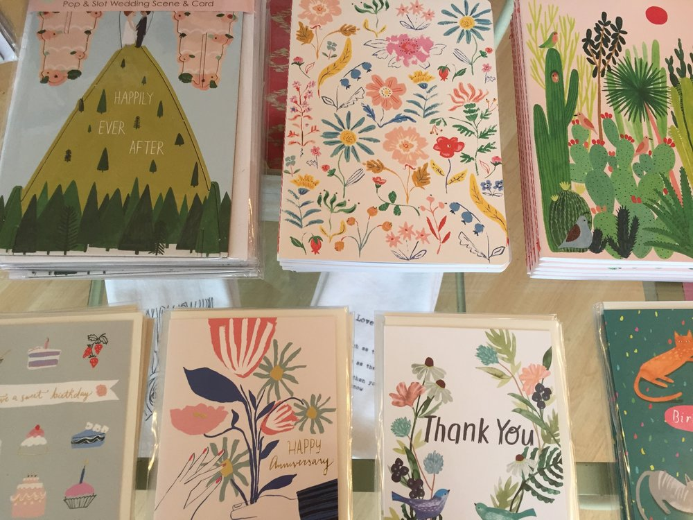 New Cards and Notebooks! Including pop up card!