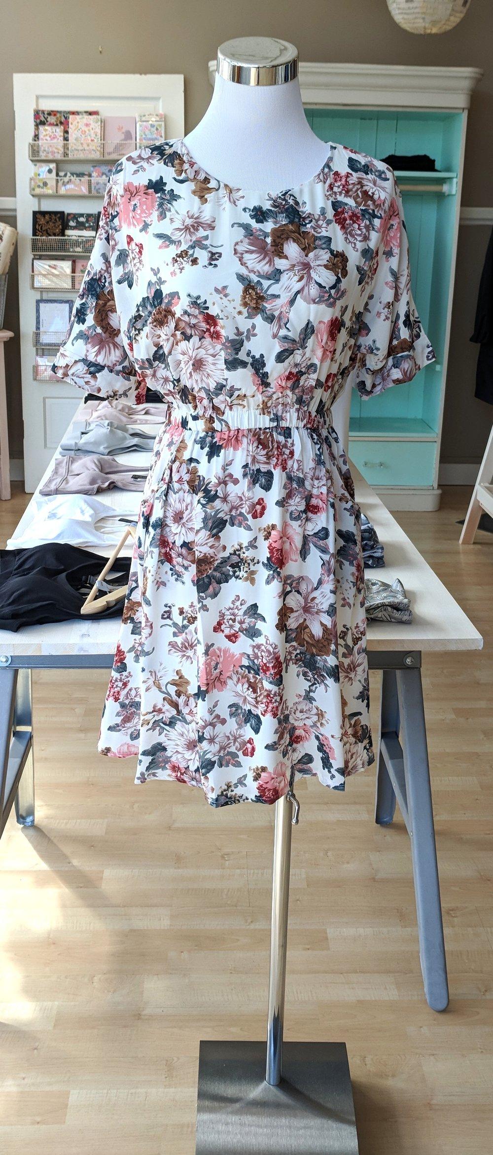 Summer floral dress $42