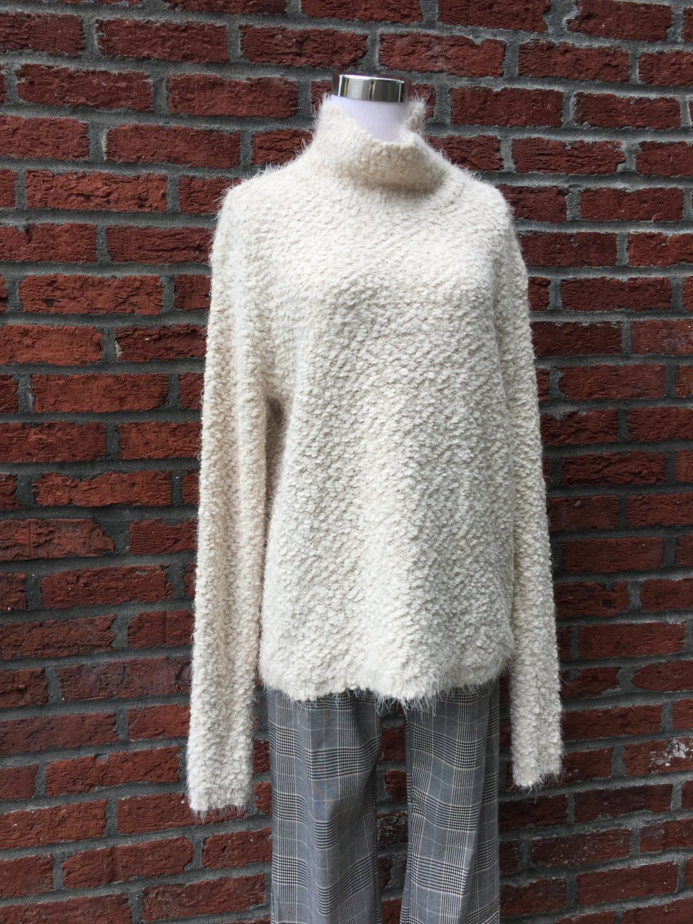 Soft Mock Neck Sweater