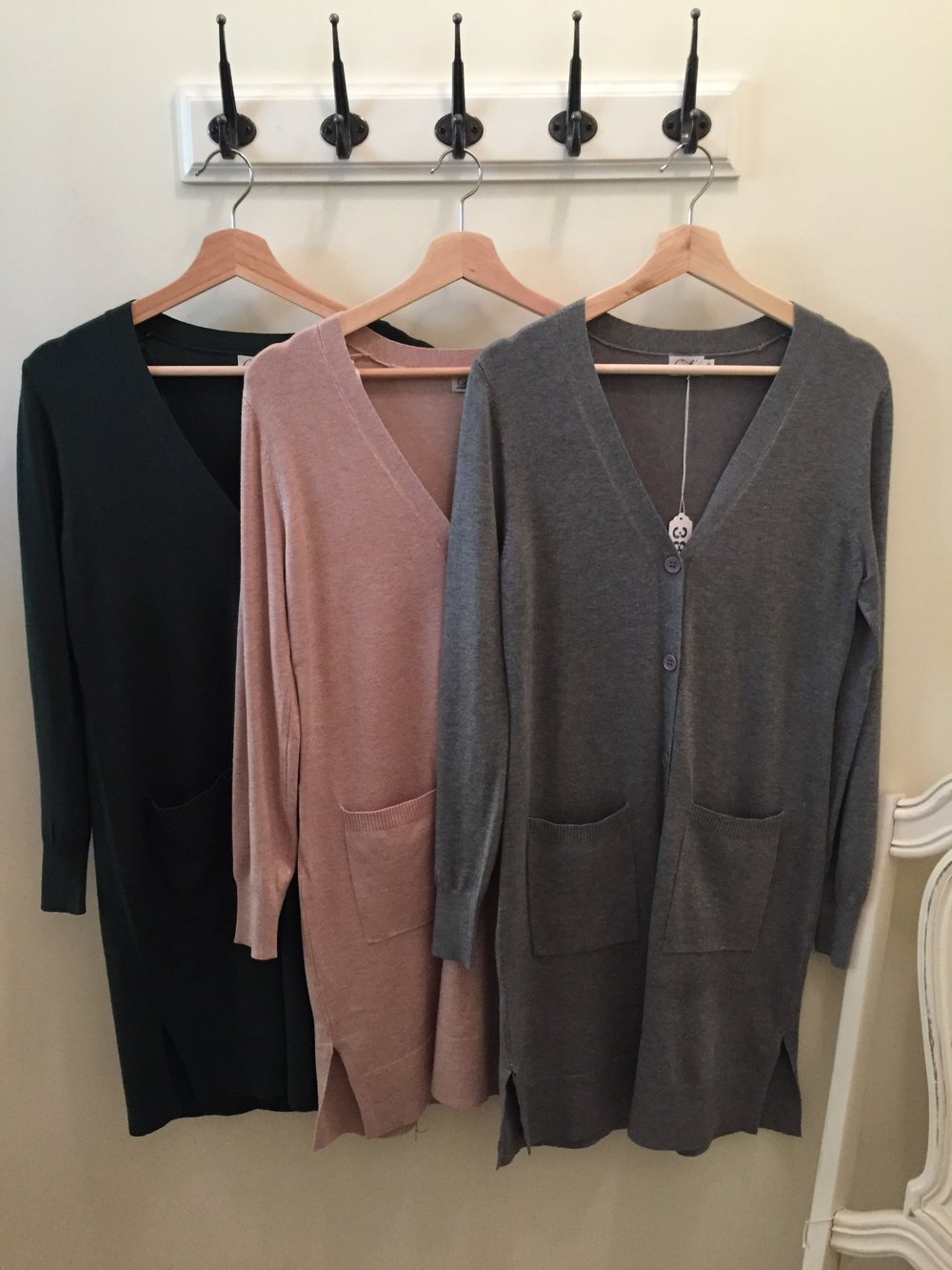 New Cielo Cardigans in various styles/ colors