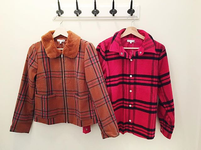 Just in this week: plaid jackets to keep you warm and plaid vests for layering 💜 🌟 #meadowboutique #meadowboutiqueseattle #dress #clothing #fashion #shoppinglocal #shopping #style  #ootd  #ootdfashion  #seattlestyle #outfitinspo #instafashion  #whattowear #shopsmall #queenanne #queenannebouoque #boutiqueshopping #shopsmall #fallstyle #fallfashion #weekendready #newarrivals #cozy #casual #comfy