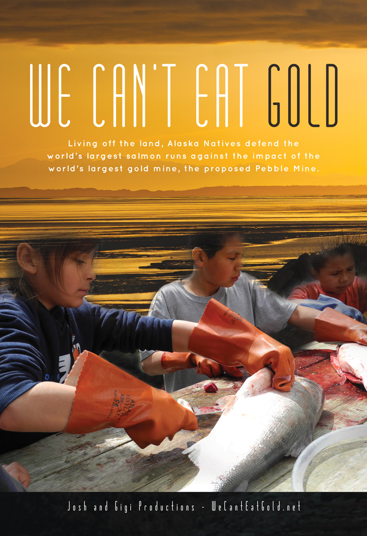 We Can't Eat Gold, draft theatrical poster, 02/25/2013