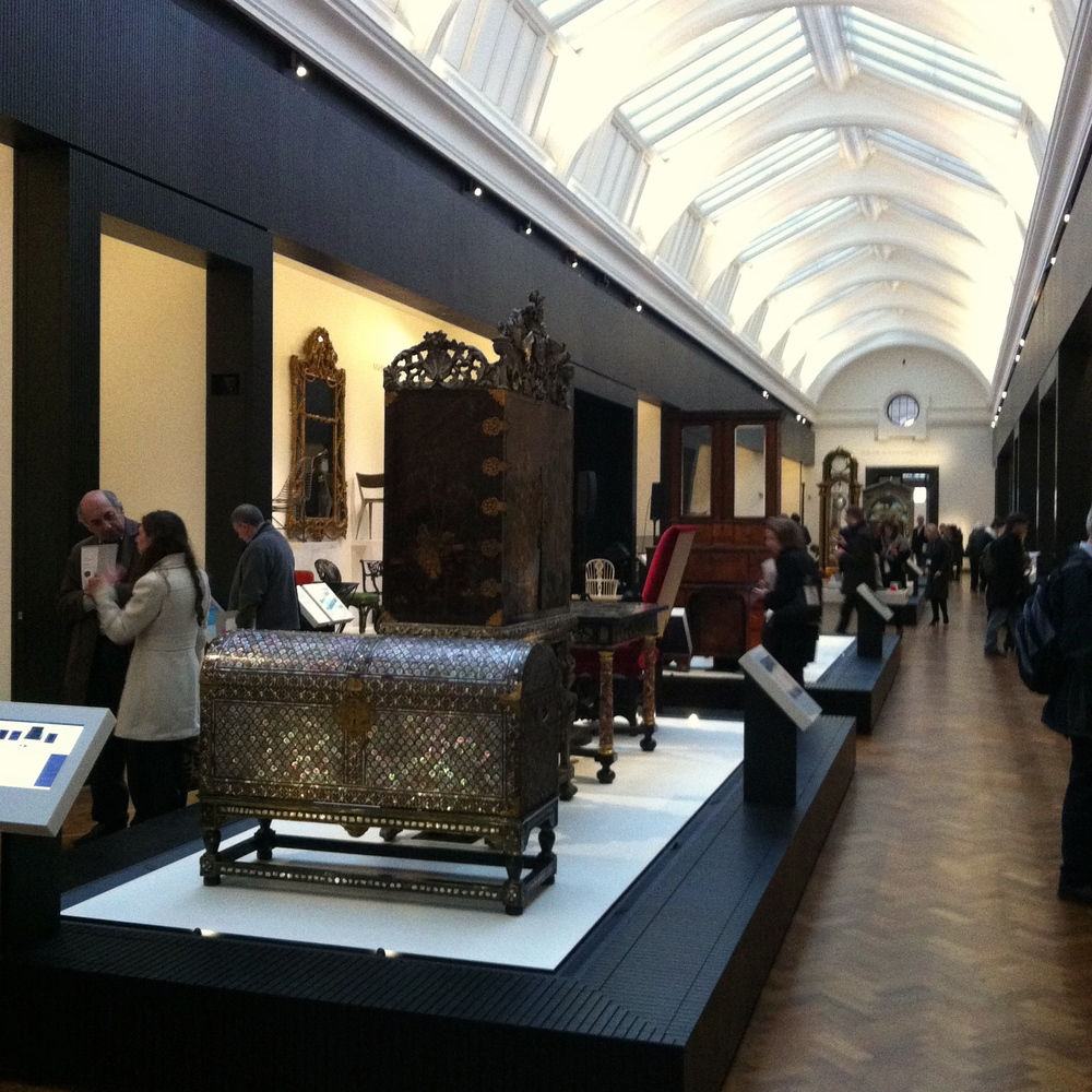The V&A's Furniture Gallery was designed by NORD Architecture