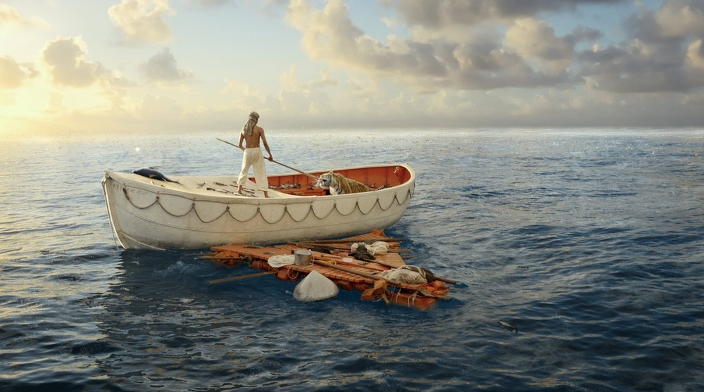Delighted by the news that the BAFTA for visual effects went to Life Of Pi. Saw this in 3D last month and it was mind blowing. With its lush colours and wildly imagined digital scenes featuring humpback whales, schools of shimmering fish and a Bengal tiger called Richard Parker it's the perfect antidote to the gloomier months. If you still haven't seen it... go (we'll talk about the ending later).