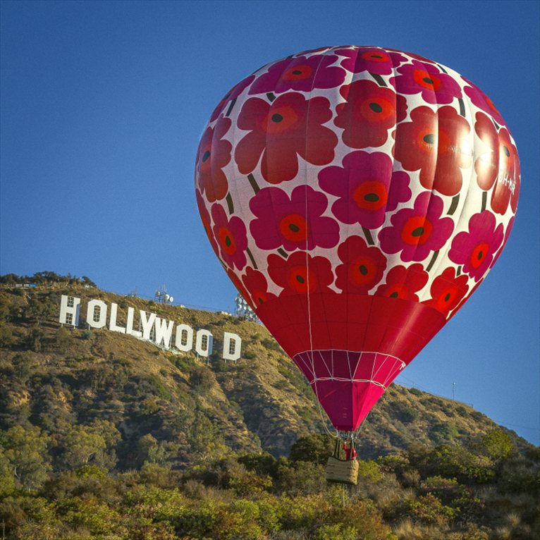 Unikko luchtballon