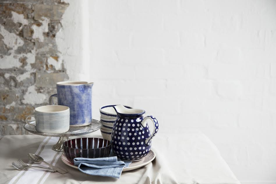 Rustic-luxe ceramics at the fair