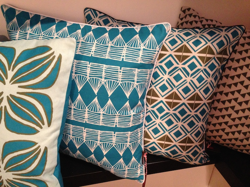 There were some very appealing textiles from Etoile Home