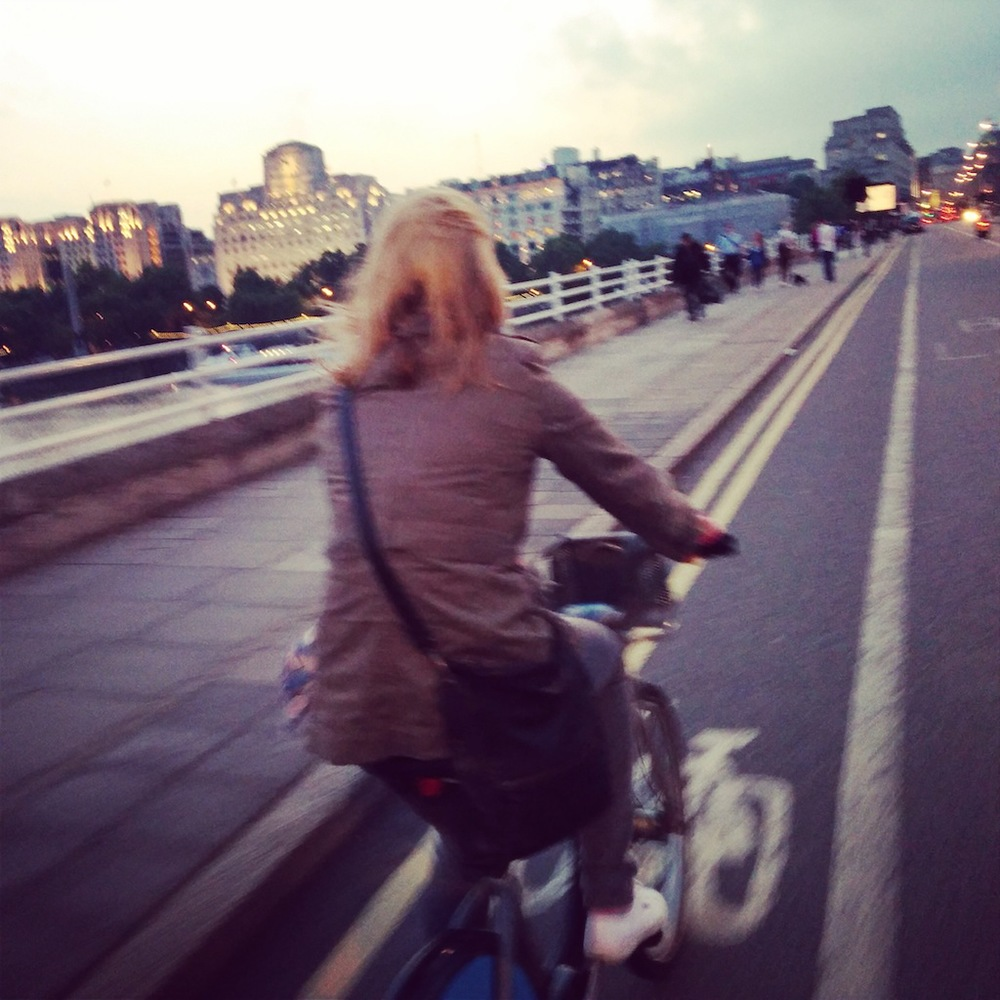 Yep. Pretty sold on Boris biking. And holidaying in London now I don't live there anymore.