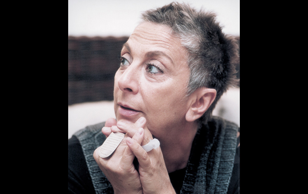 Italian designer Paola Navone has a feel for textiles