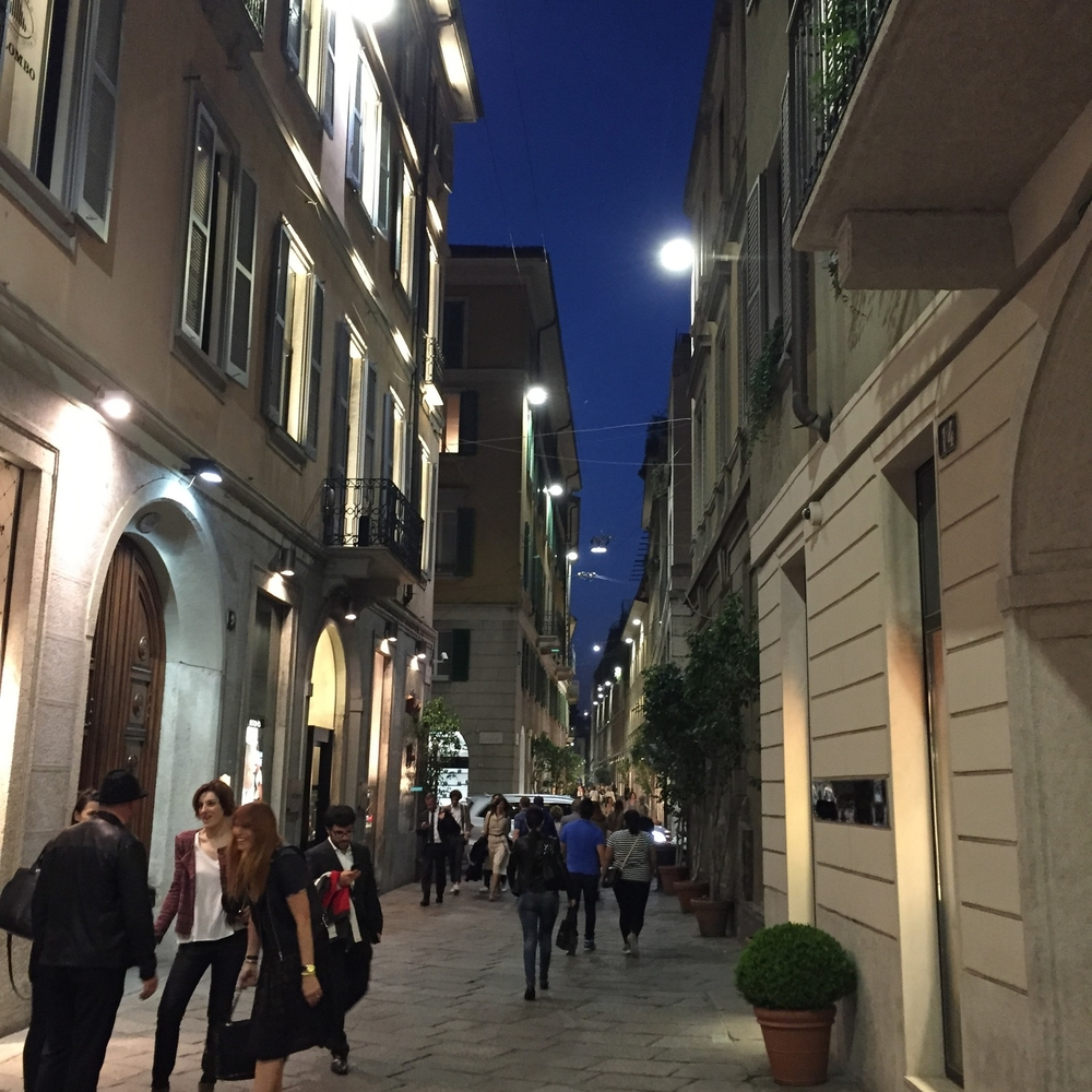 The streets were buzzing in the warm evenings. Arrivederci! Until next year.