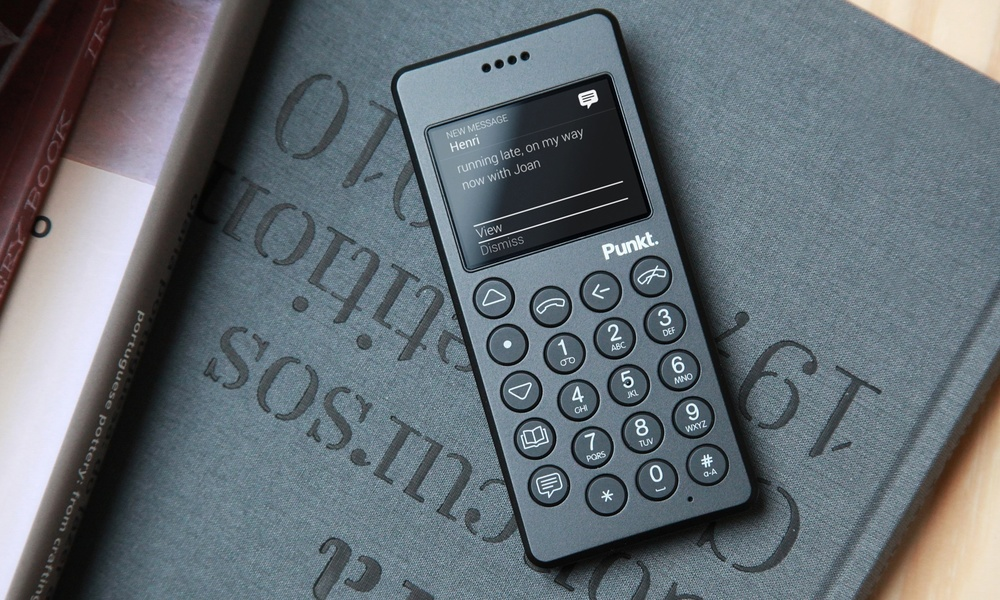 The smartphone backlash has begun... with the launch of the  MP01 from Punkt , a mobile phone which only calls and texts, old school style. Punkt's mantra is: 'one device one function'. I love the idea of not being in thrall to my smartphone, but I'm not sure how I'd fare without it. They talk about the MP01 as a training device, ie use it in the evenings/weekends, take it on holiday so you can stay in touch, but it stops you checking your emails all the time - and pack a real camera. I sort of feel we should blame the workman, not the tool, but I get where they're coming from.