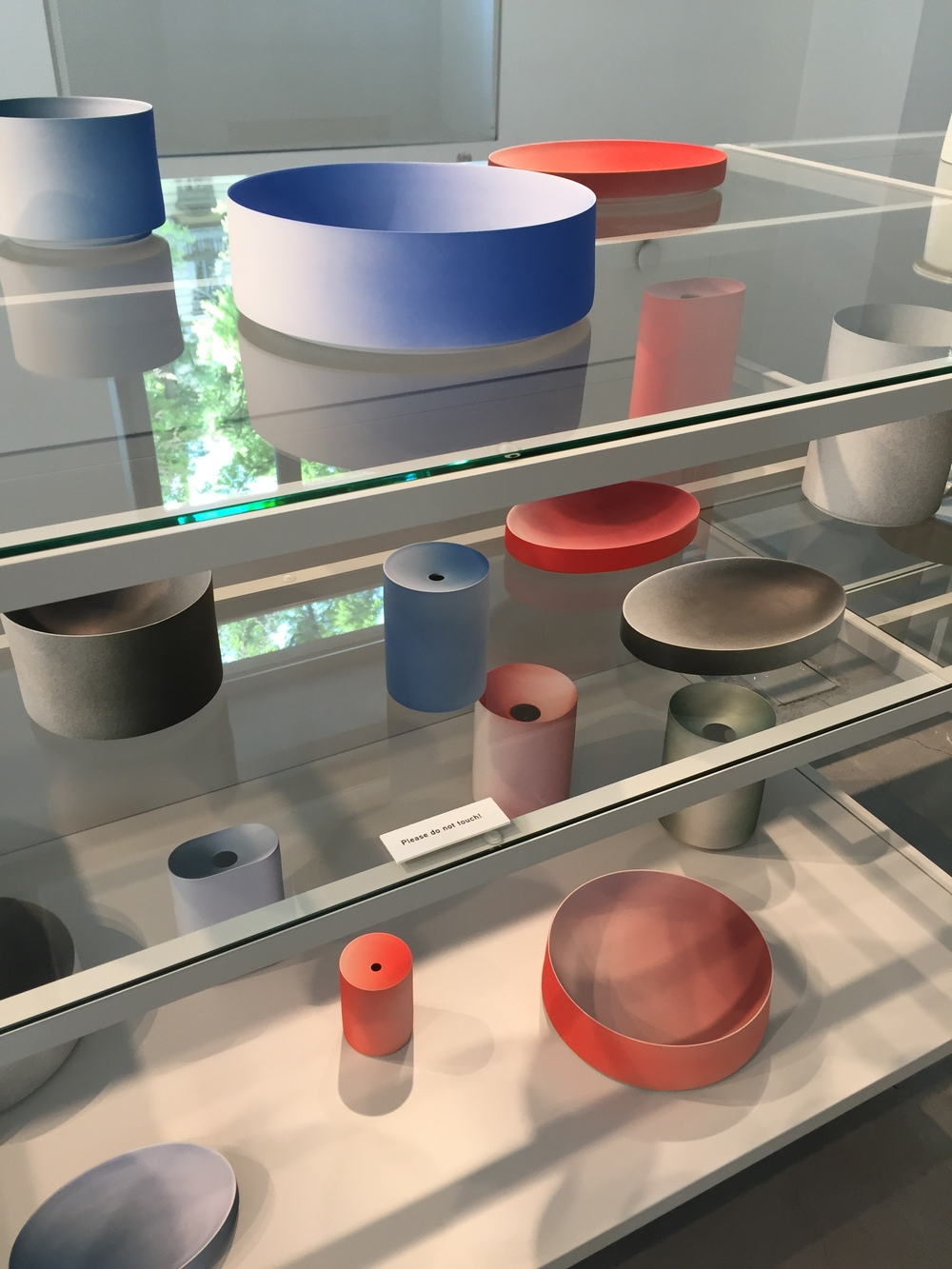 Stunning ceramics by Kueng Caputo created using a specialist technique of airbrush painting called 'fukitsuke' which allows for soft gradients of colour and texture to be applied to the surface. Part of an exhibition to celebrate and promote the 400 year old history of ceramics from  Arita, Japan  organised in partnership with  Scholten and Baijings  among others.