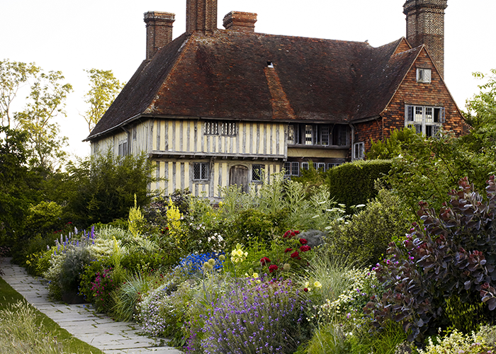 The Arts and Crafts abundance of Great Dixter may seem at odds with the designer's favoured minimalist lines, but has inspired him to create his own border there
